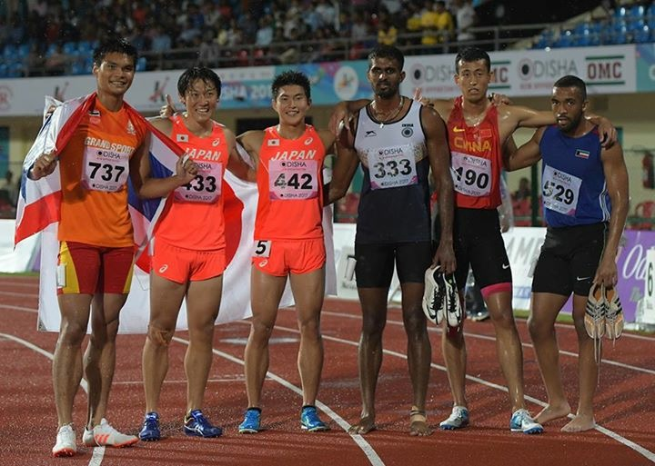 川崎選手 アジア選手権 銀メダル...